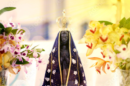 Photo  Statue of the image of Our Lady of Aparecida