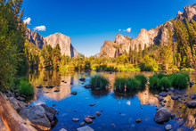 Valley View In Yosemite Nation...