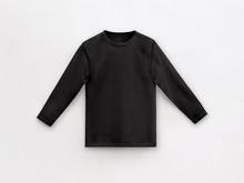 Black Long Sleeve T-shirt For ...