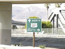 Highway 101 Sign