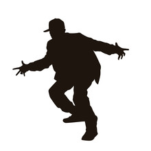 Hip-hop Dancer Silhouette
