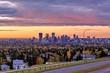 Vibrant Sunrise Over Calgary