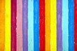 colorful wooden planks retro rainbow texture background