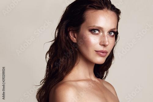 Fotografie, Tablou  Beauty woman portrait