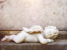 Sleeping Angel Grave Statue