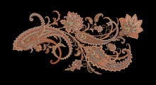 Decorative Elegant Luxury Design.Design For Cover, Fabric, Textile, Wrapping Paper .Paisley Pattern.