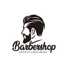 Barbershop Logo Design Vector