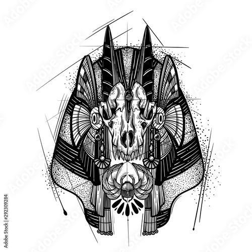 Photo Anubis. Guardian of the Underworld.