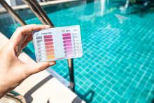 Water Testing Test Kit In Girl...