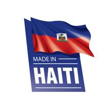 Haiti Flag, Vector Illustratio...