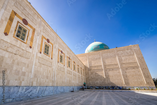 One of the buildings of Mausoleum of Ruhollah Khomeini in Tehran, Iran