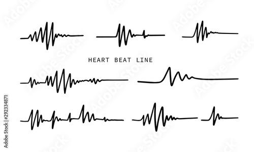 Fotografía  Heart beat line