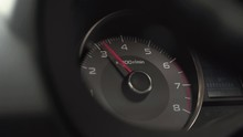 Red Pointer Of Rev Counter Ind...