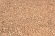 Yellow Stone Sand Road Ground Texture Closeup