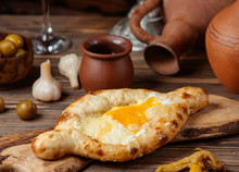 Turkish Cheese Eggs Flatbread ...