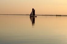 Wustrower Bodden, Zeesboot, Fl...