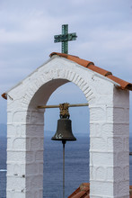 Bell Tower Of Church On Hydra ...