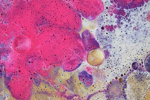 Abstract background. Marble texture. Acrylic colors.