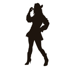 The CowGirl Silhouette