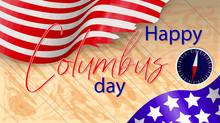 Vector Illustration Of Columbu...