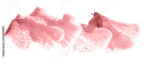 Abstract watercolor background hand-drawn on paper Fototapet