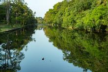 Ruins Of The Ancient City Anuradhapura, Sri Lanka. Kuttam Pokuna Twin Ponds Are Bathing Tanks Or Pools In Ancient Sri Lanka.