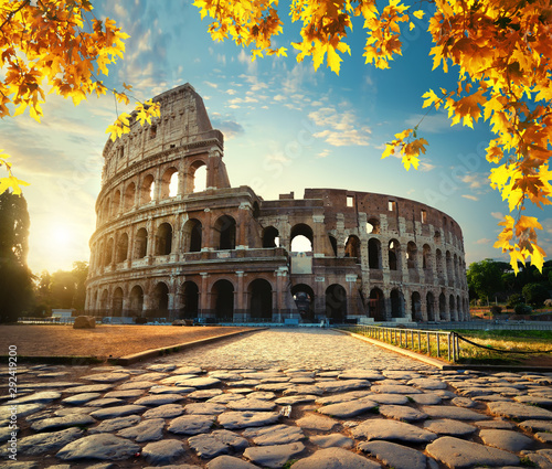 Coliseum in autumn - 292419200