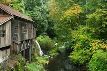 Grist Mill Near Woodland, Wash...