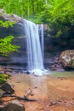 Cucumber Falls In Ohiopyle Sta...