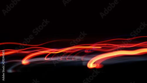 Art of light in slow motion