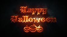 Happy Halloween Text Greeting ...