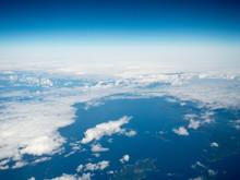 名古屋ー沖縄間の空撮