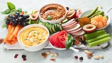 Healthy Vegan Snacks And Dips
