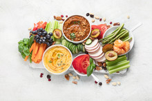 Healthy Vegan Snacks And Dips
