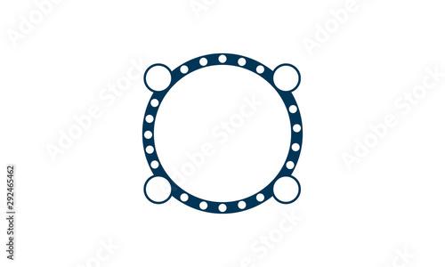 Cuadros en Lienzo Gasket icon illustration isolated vector sign symbol