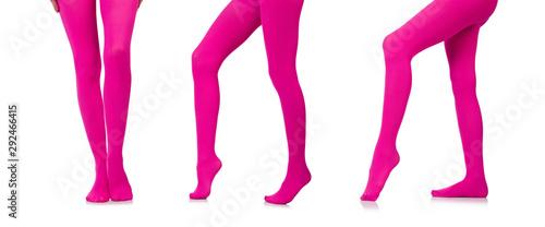 Fotografie, Obraz  Woman legs in long stockings