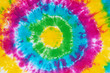 canvas print picture - tie dye pattern hand dyed on cotton fabric  abstract background.