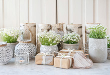Beautifully Wrapped Gifts And ...