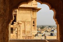 Patwon Ki Haveli Palace In Jaisalmer. India