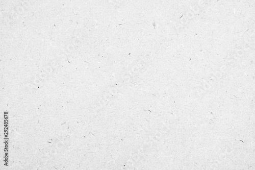Fényképezés  White paper texture background or cardboard surface from a paper box for packing