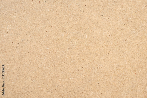 Fotografia, Obraz Brown paper texture background or cardboard surface from a paper box for packing