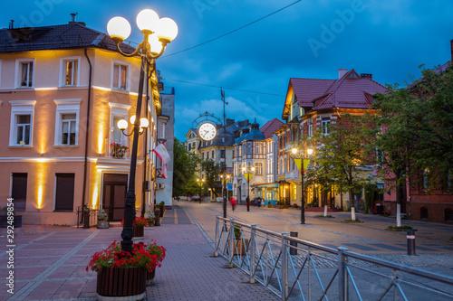 Foto auf AluDibond Osteuropa Architecture of Zelenogradsk