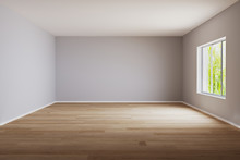 Empty Room For Mockup. Empty R...