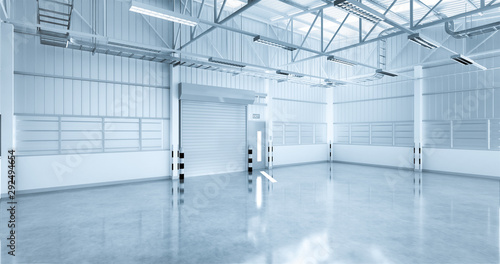 Fototapeta  industrial building background