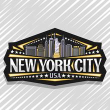 Vector Logo For New York City,...