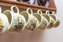 Dutch Mugs And Plates Hanging ...