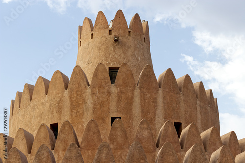 Al Ain palace museum in Al Ain, United Arabian Emirates Wallpaper Mural