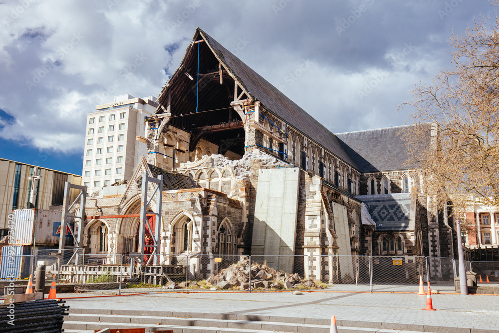 Fototapeta Christchurch Cathedral