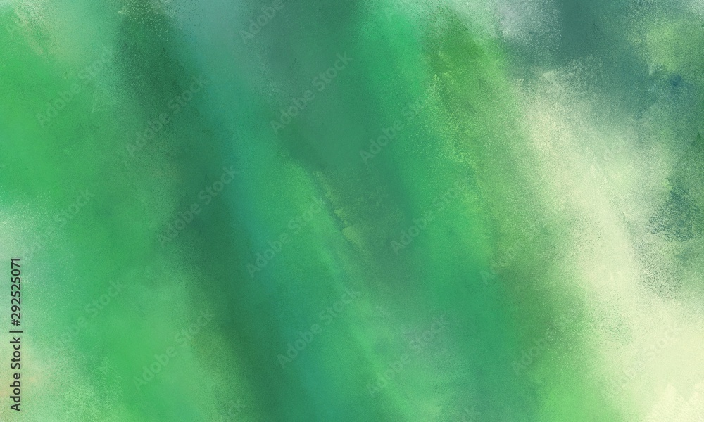 Fototapeta abstract diffuse texture background with medium sea green, tea green and dark sea green color. can be used as texture, background element or wallpaper
