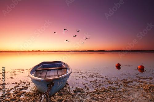 Fotografie, Tablou  Fischerboot am Strand